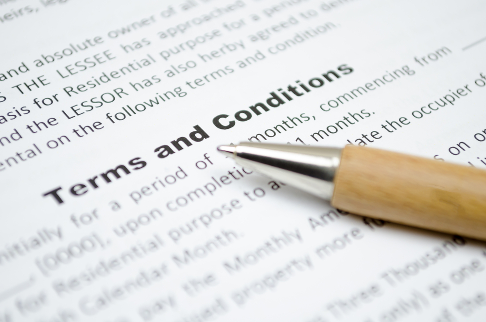 Turner Little Terms and conditions right